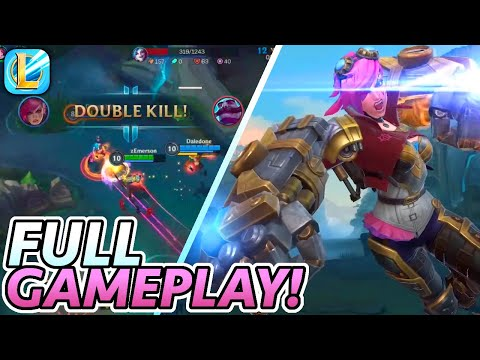 Jungling in Wild Rift! (Vi Full Gameplay + English Commentary) | League of Legends: Wild Rift Alpha