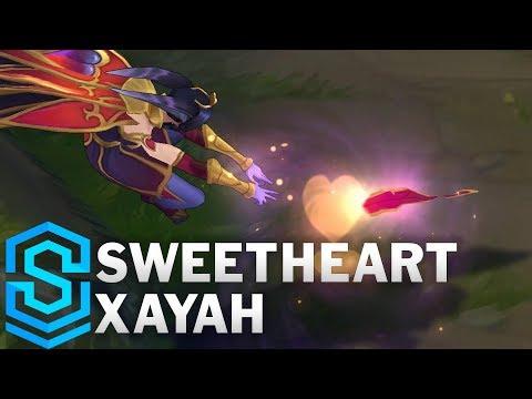 Sweetheart Xayah Skin Spotlight - League of Legends