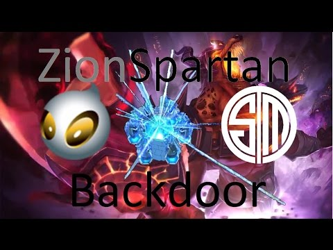 Zionspartan Nasus Backdoor (TSM vs DIG)