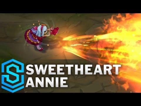 Sweetheart Annie (2020) Skin Spotlight - League of Legends