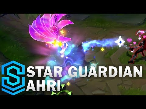 Star Guardian Ahri Skin Spotlight - League of Legends