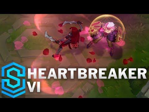 Heartbreaker Vi Skin Spotlight - League of Legends
