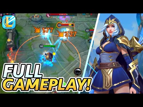 Wild Rift Ashe is INSANE! (Full Gameplay + English Commentary) | League of Legends: Wild Rift Alpha