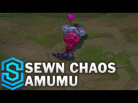 Sewn Chaos Amumu Skin Spotlight - Pre-Release - League of Legends