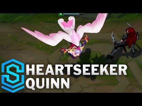 Heartseeker Quinn Skin Spotlight - League of Legends