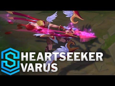 Heartseeker Varus (2018) Skin Spotlight - League of Legends