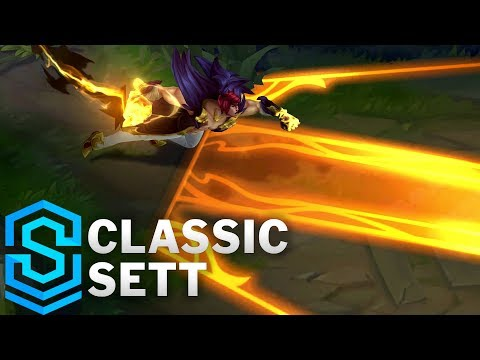 Classic Sett, the Boss - Ability Preview - League of Legends