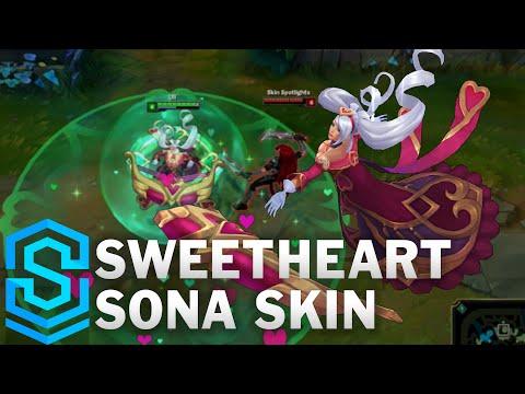 Sweetheart Sona Skin Spotlight - League of Legends