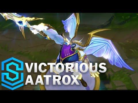 Victorious Aatrox Skin Spotlight - League of Legends