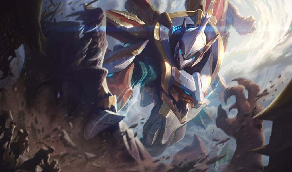 League of Legends Champion Sett, Skin: Sett Mecha Kingdom