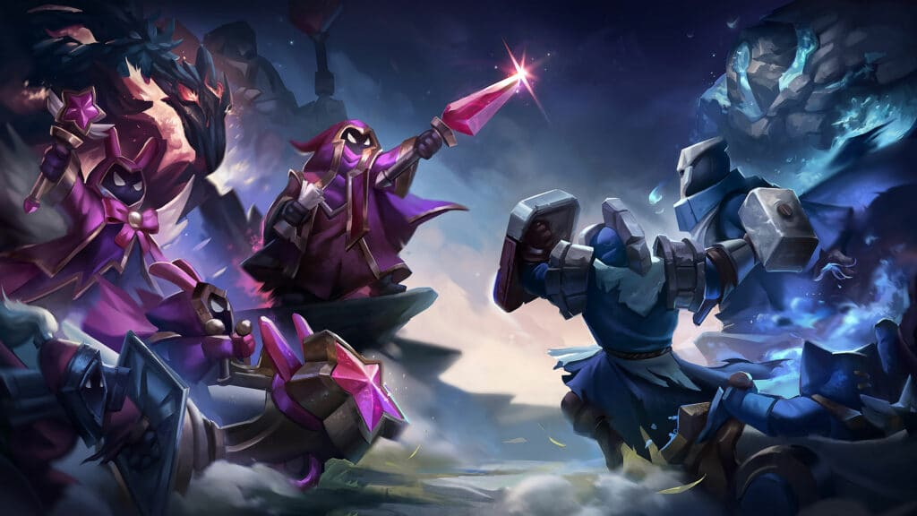 Shotcalling: Minion battle in League of Legends by Riot Games