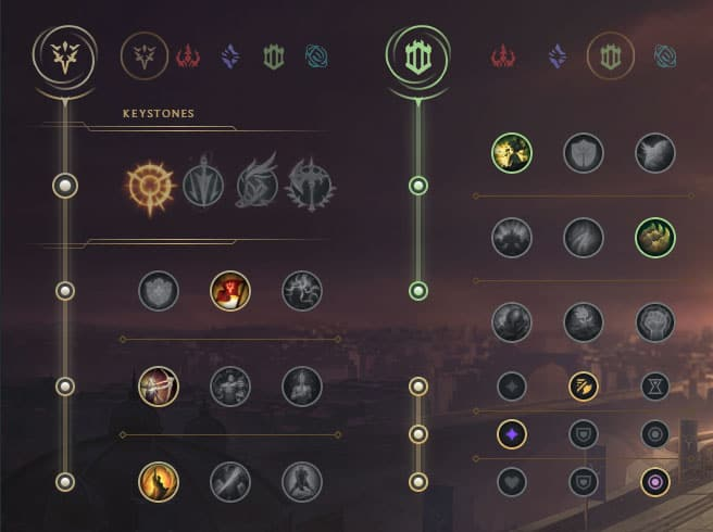 Tristana Mid - Runes