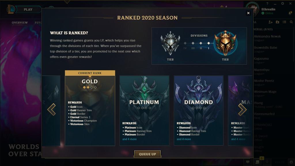Gold League Season 10 Rewards