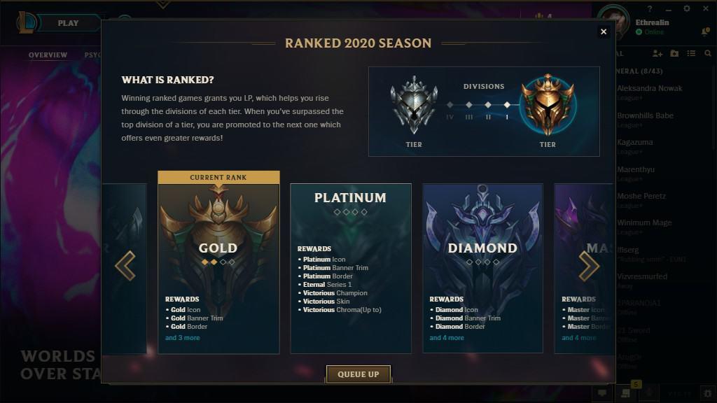 Platinum–Grandmaster League Season 10 Rewards