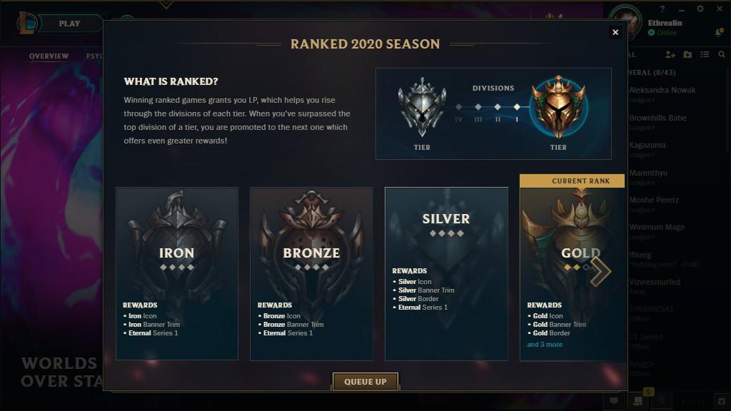 Iron–Silver League Season 10 Rewards